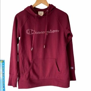 Champion Women's XS Hoodie Wine Colour
